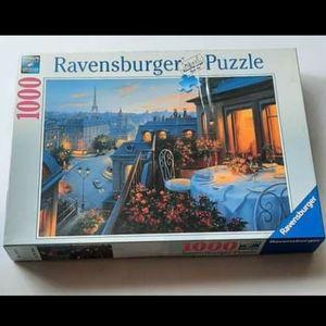 Puzzle-Ravensburger Paris Balcony 1000pc.